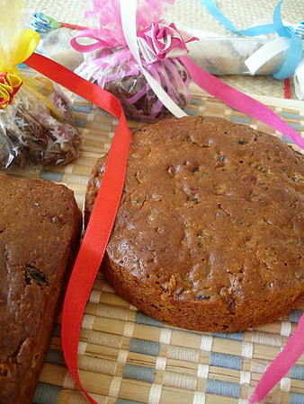 Indian Christmas Fruit Cake Recipe