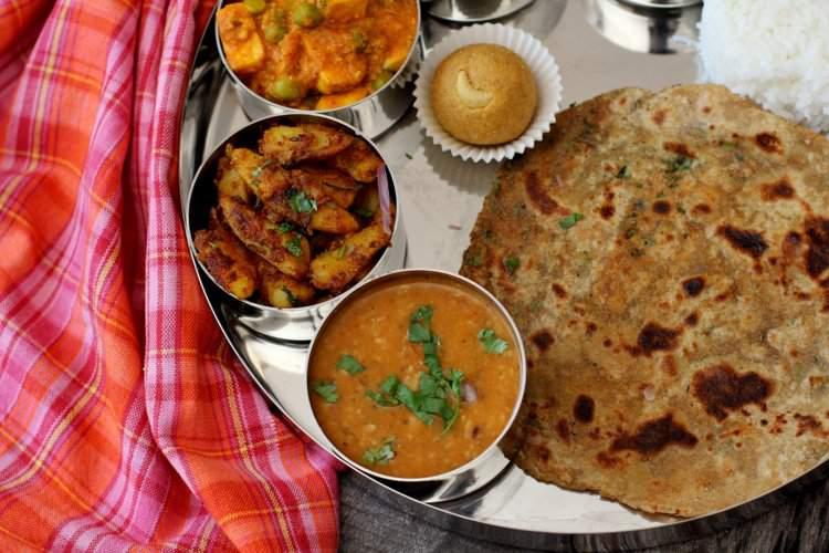 masala paratha recipe