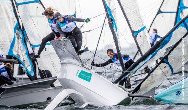 From 27 January to 3 February 2019, Miami will host sailors for the second round of the 2019 Hempel World Cup Series in Coconut Grove. More than 650 sailors from 60 nations will race across the 10 Olympic Events. ©JESUS RENEDO/SAILING ENERGY/WORLD SAILING 30 January, 2019.
