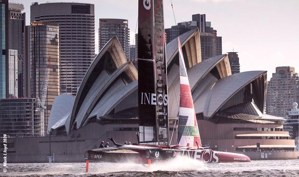New Broom for Great Britain SailGP at Sydney