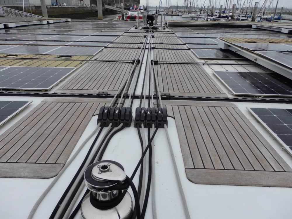 Pont Teck Planet Solar - SailWood