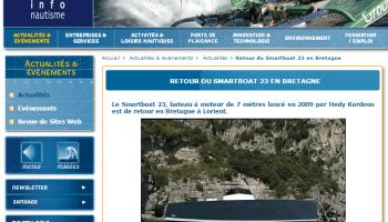 Relocalisation Smartboat 23