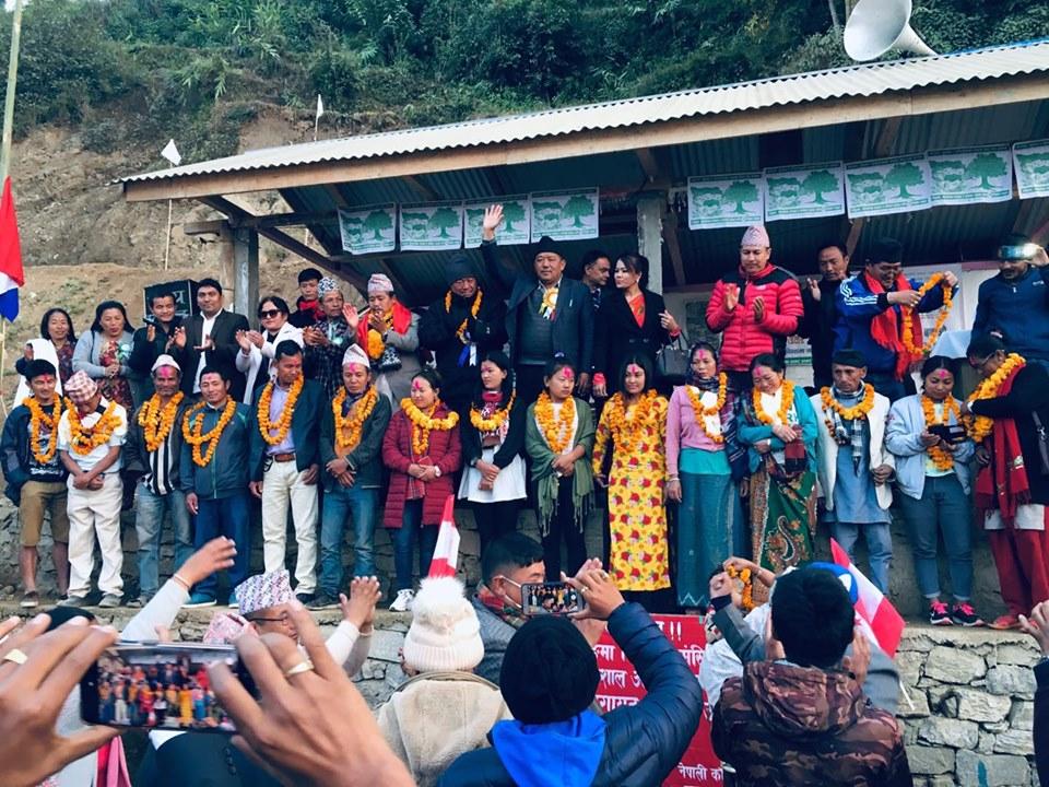 उपनिर्वाचनःइम्बुङमा ५ दर्जन भन्दा बढी कांग्रेस प्रवेश