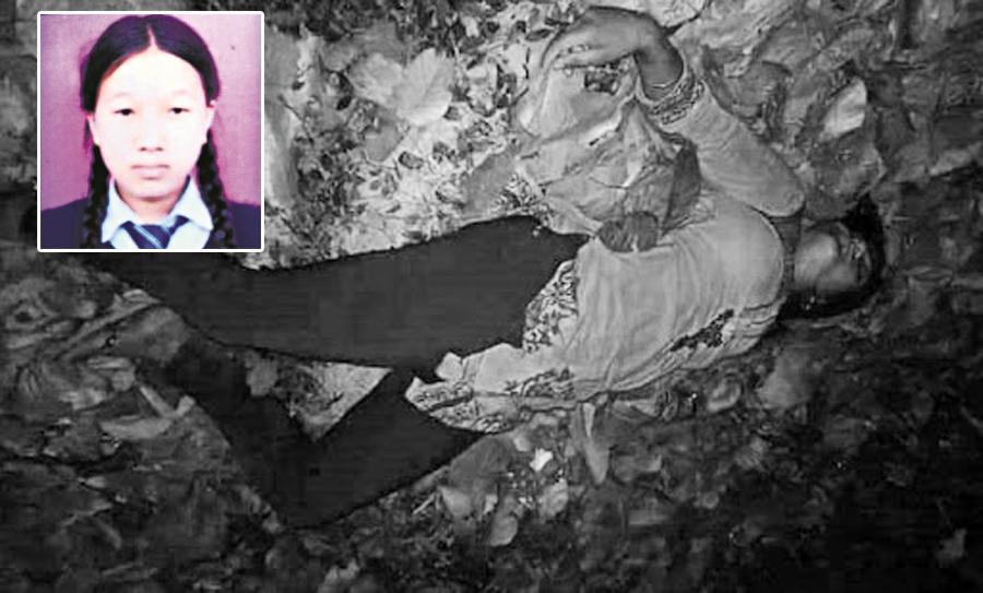 परीक्षा दिन हिंडेकी किशोरीको बलात्कारपछि हत्या