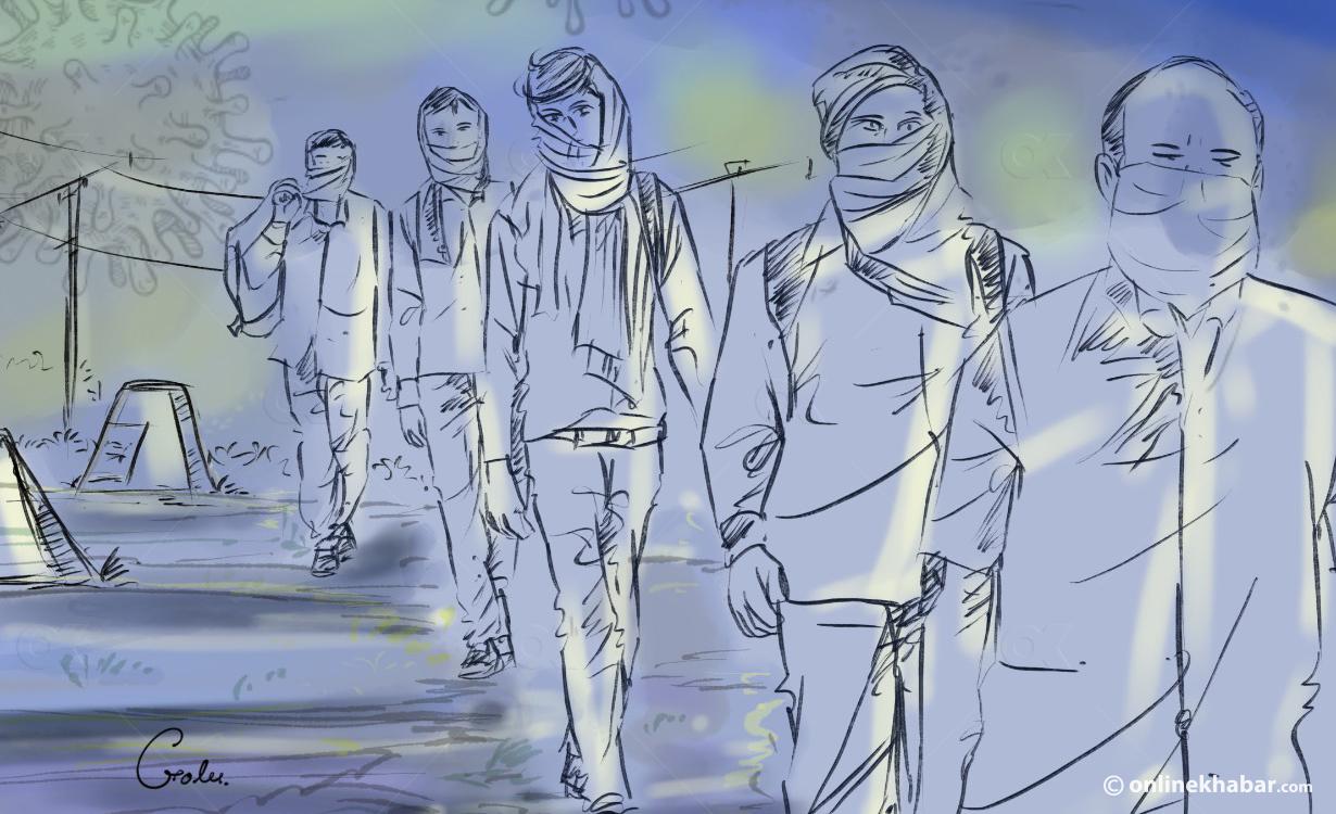 जोगबनी नाका हुँदै ३०४ नेपाली विराटनगर भित्रिए