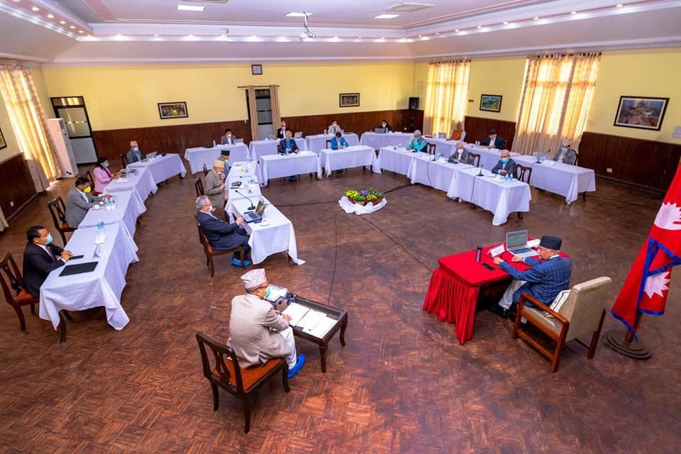 मन्त्रिपरिषद्को बैठक ४ बजे बस्दै, आइजिपी नियुक्त गर्न सक्ने