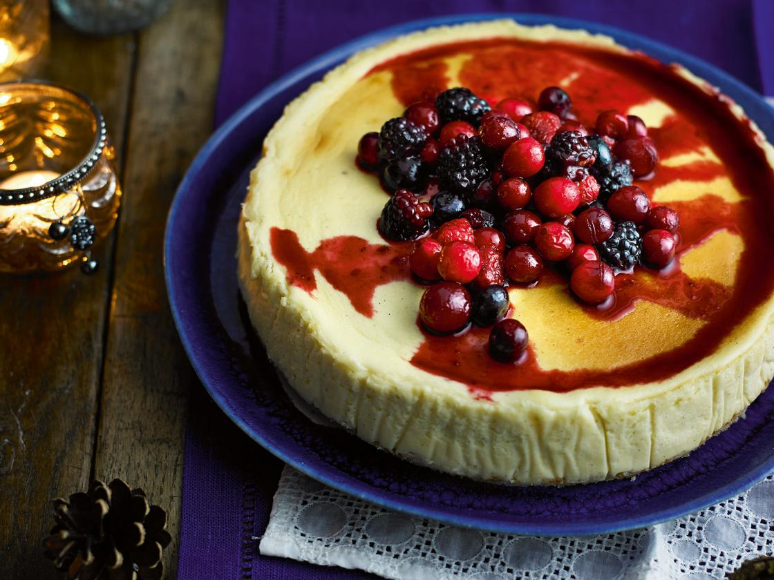 Winter cheesecake
