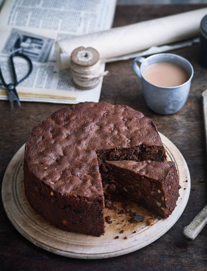 Italian chocolate Christmas cake recipe Sainsbury39s Magazine