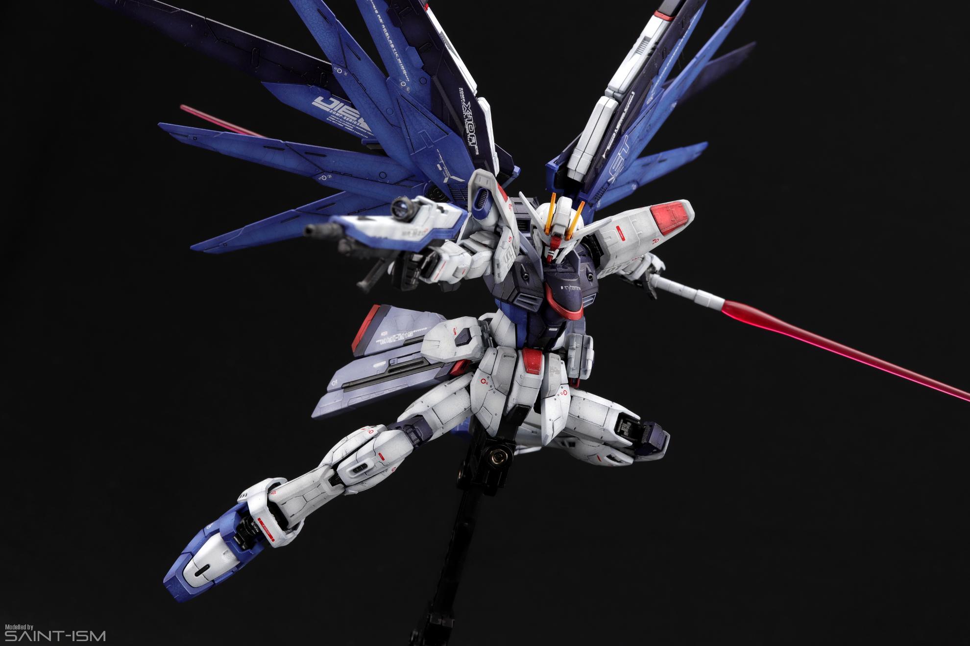RG Freedom Gundam | Saint-ism – Gaming. Gunpla. Digital Art