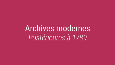 archives modernes