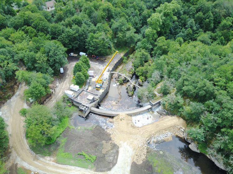 Effacement du barrage du Gué Giraud