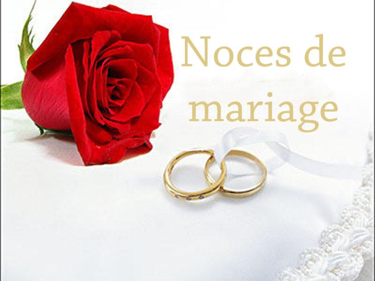 Cérémonie noces de mariage