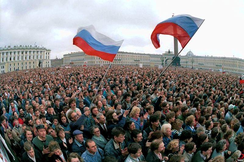 History of Leningrad/St. Petersburg during Perestroika