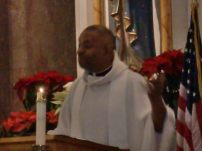 The Guest Homilist was Rev.Chester Smith, who along with his brother Fr. Charles Smith Jr. made history in1988 by becoming the first African American twin priests ordained in the Roman Catholic Church in America.