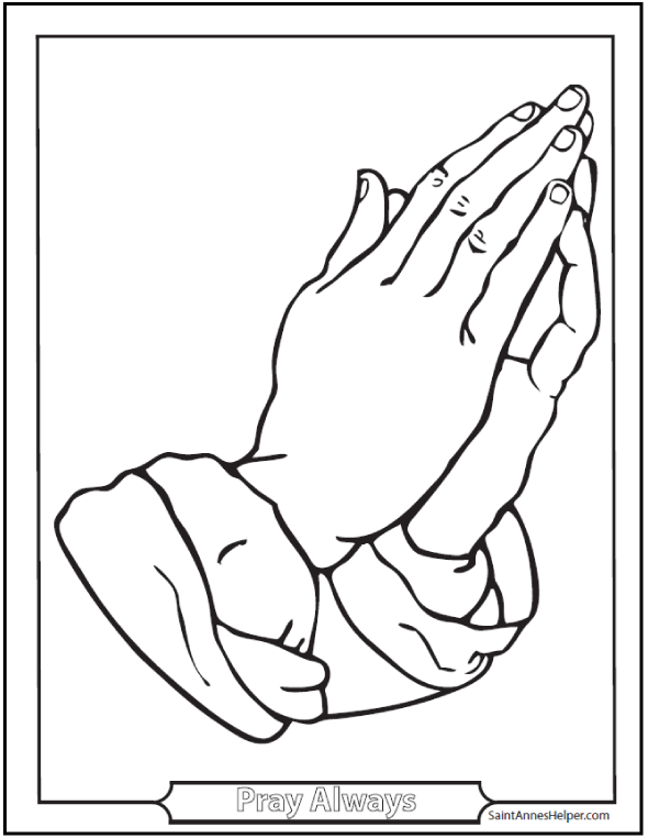 25+ Rosary Coloring Pages: The Mysteries Of The Rosary