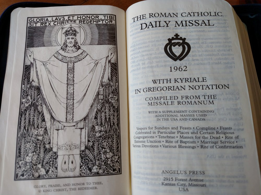 Catholic Missal Best Latin Mass Missal New Marian Or