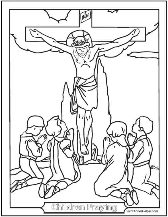 500+ Coloring Pages To Print + Catholic Coloring Pages