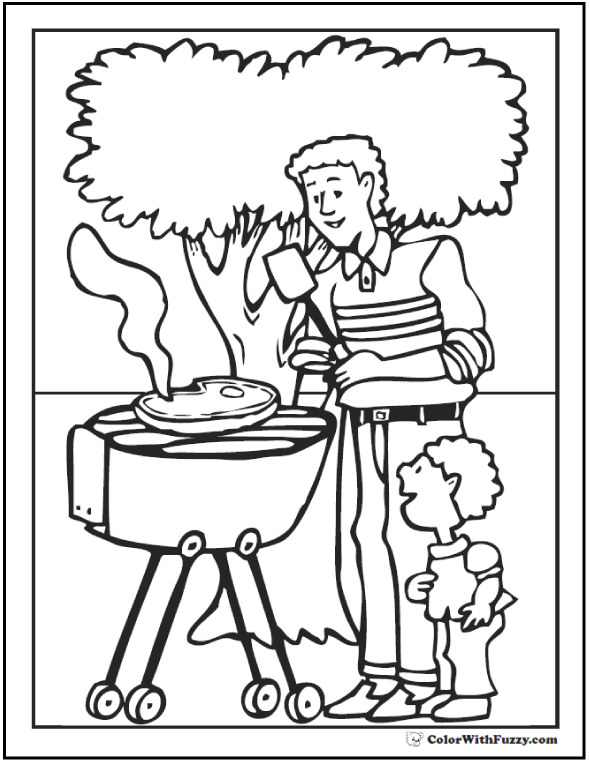 Father's Day Coloring Pages Of St. Joseph