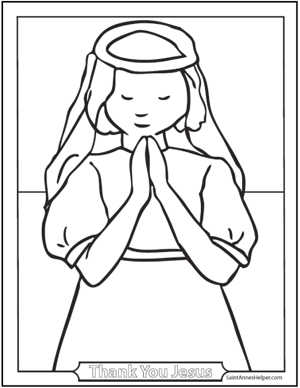 14+ Communion Coloring Page Printables