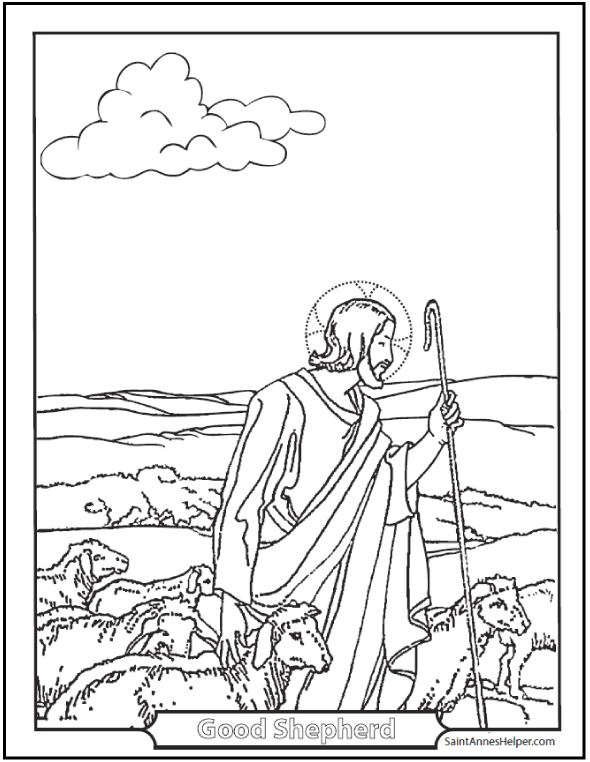Catholic Coloring Pages: Sacraments, Rosary, Children