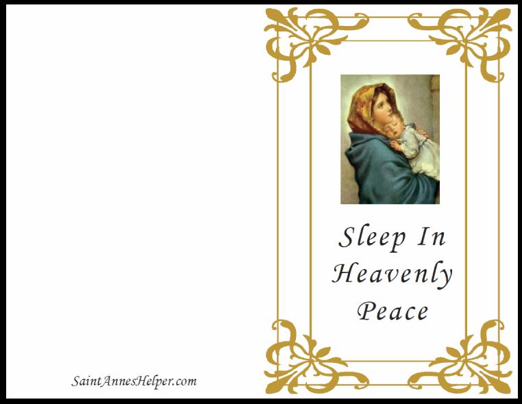 Printable Christian Christmas Cards Madonna Of The Streets