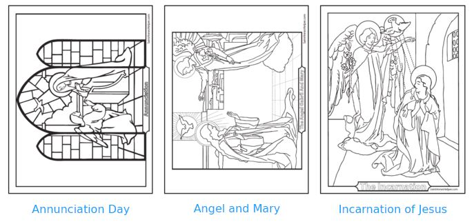 40+ Rosary Coloring Pages + The Mysteries Of The Rosary