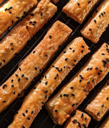 St Helena Cheese Straws recipe