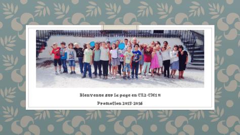 Photo de classe CE2_CM1