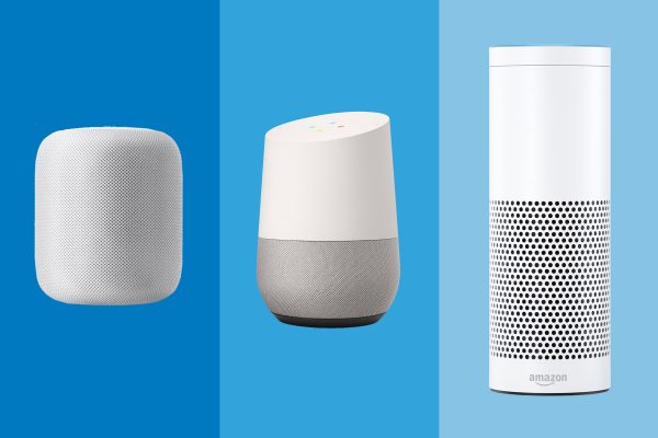homepod echo and home