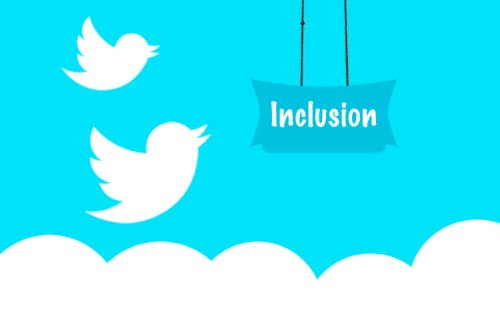 twitter inclusion