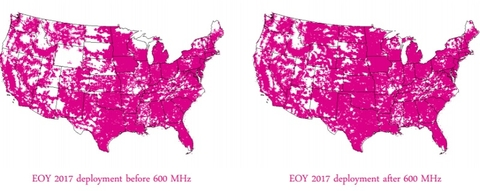 T-Mobile 600 MHz coverage