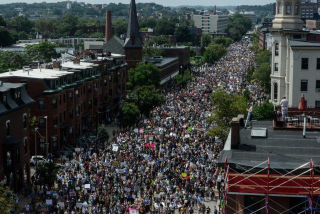 boston protestors