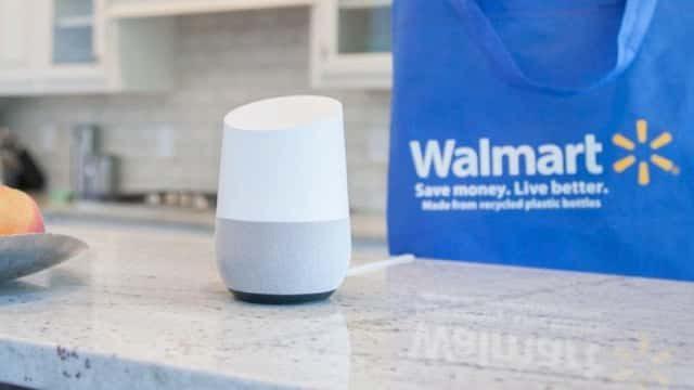 walmart and google