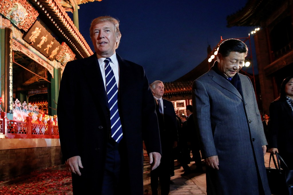 donald trump and chinese president
