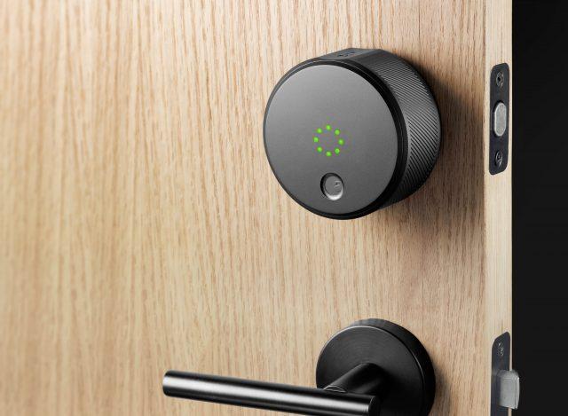 august home door lock