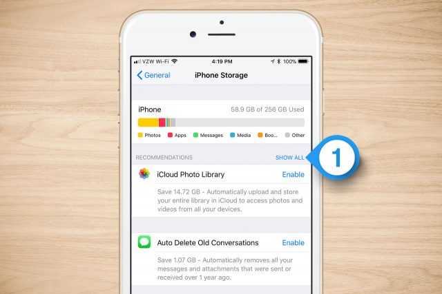 iphone storage other