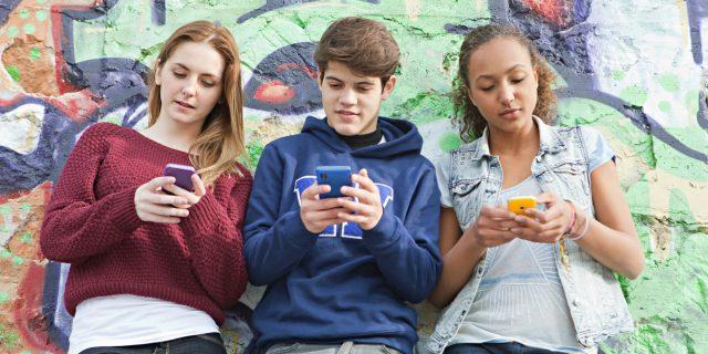 teenager social media