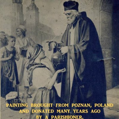 An original print of our patron saint