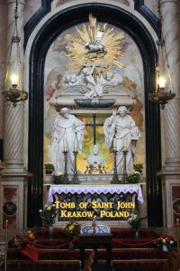 Tomb of Saint John Kanty, Krakow, Poland