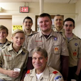 Troop 107...our faithful helpers!