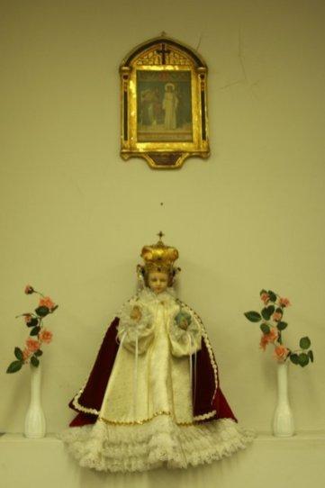 Infant of Prague: Chapel