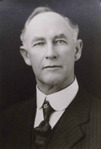 John W. Coburn (1850-1939), first Mayor of Ladysmith (photo courtesy of Ashlar Lodge No. 3)