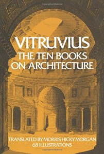Vitruvius, The Ten Books On Architecture. Book cover