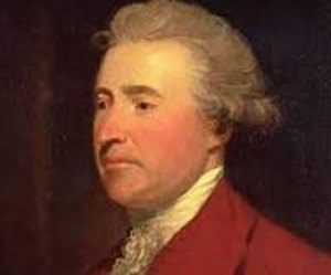 Edmund Burke (1729-1797) Anglo-Irish political theorist writer and Freemason.