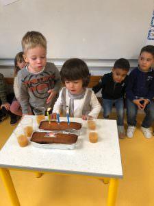 Nos anniversaires à l'école !