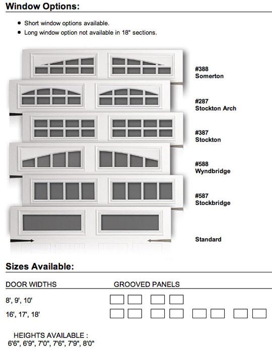 doorLink Model 430 Residential Steel Garage Doors  Saint