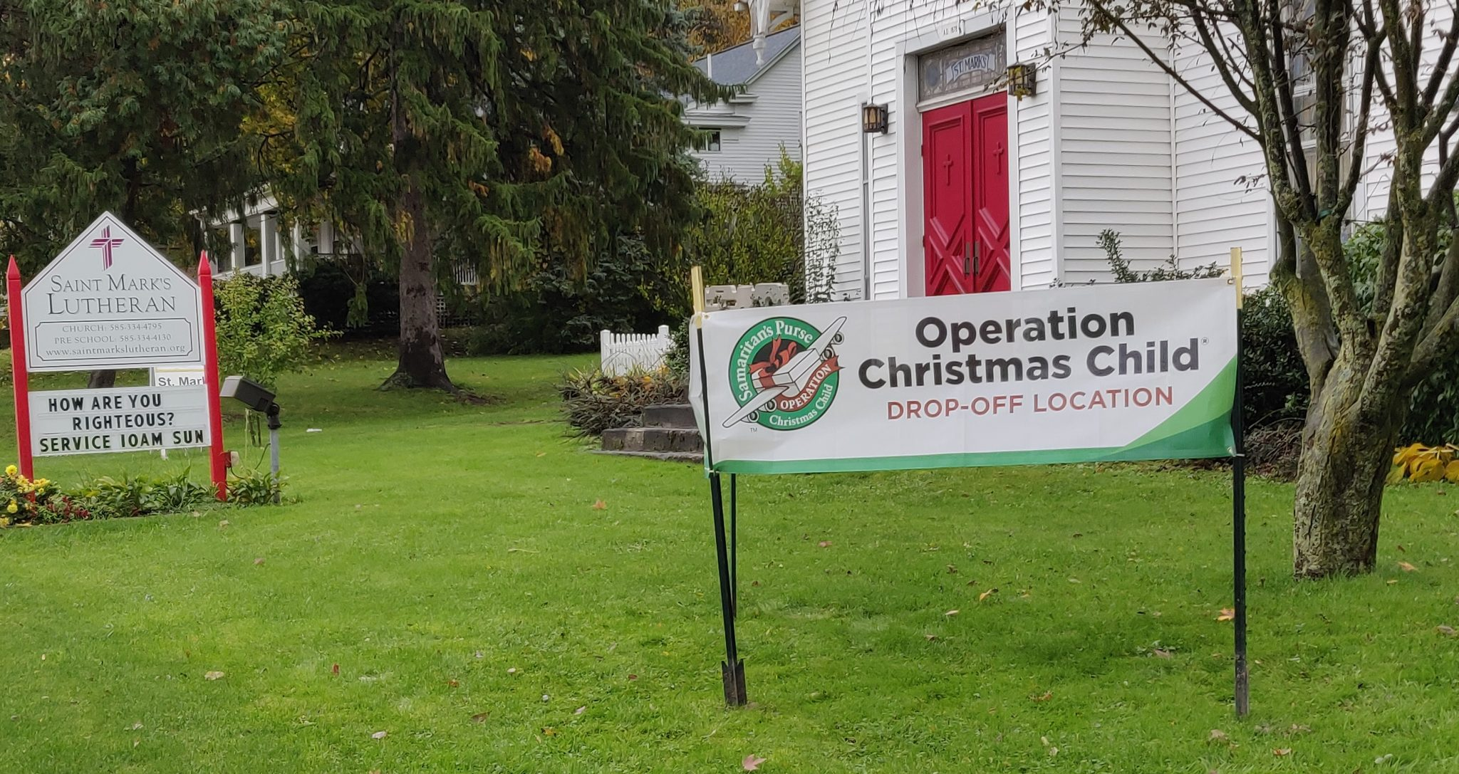 Operation Christmas Child Drop Off.Operation Christmas Child Shoeboxes Drop Off St Mark S
