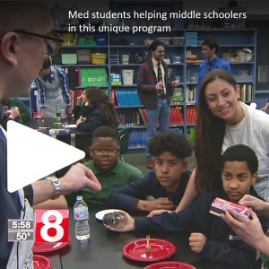 News 8 reports on Science Fridays