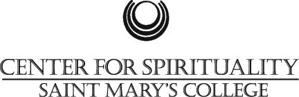 Center for Sprirituality Logo