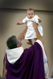Fr Jim & baby